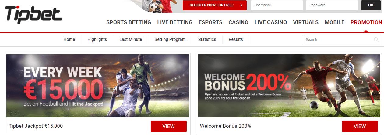 tipbet bonus